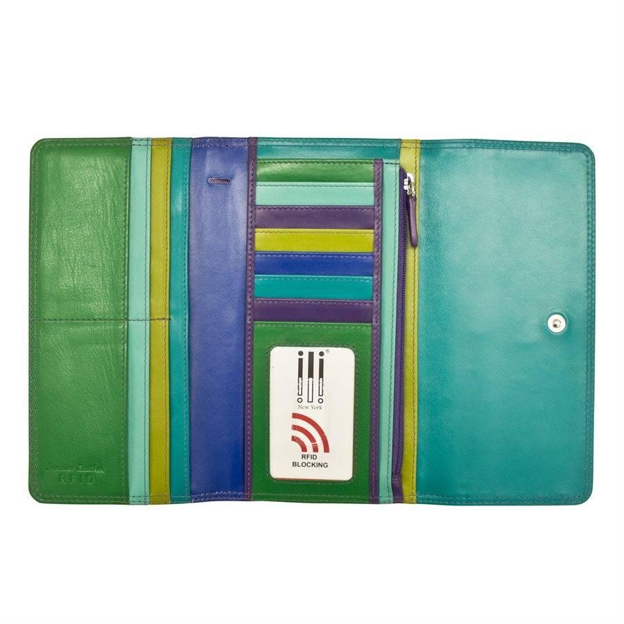 intercontinental leather (IL) ili lady wallet 2018