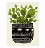 methane studios methane studios cactus #1 screenprint 11 x 14