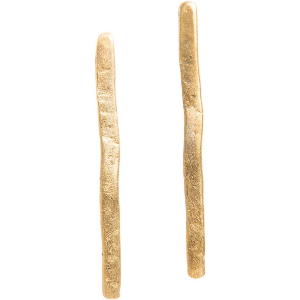 original hardware original hardware bar stud earrings