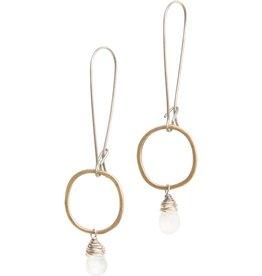 original hardware original hardware moonstone drop earrings