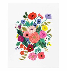 rifle paper rifle paper co juliet rose bouquet art print 16 x 20