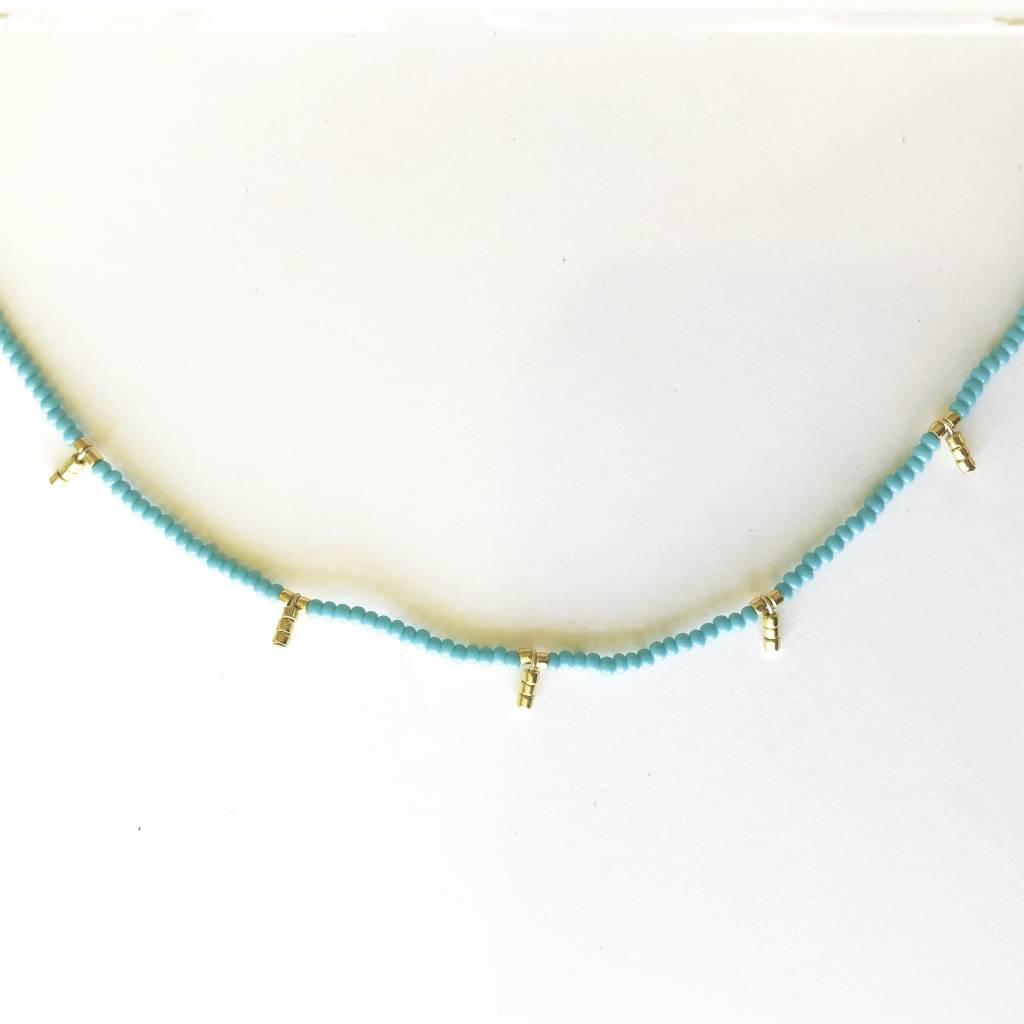 sidai designs sidai designs 5 drop kisongo necklace
