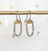 eric silva eric silva mini half moon earrings