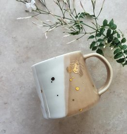 apricity ceramics apricity ceramics drops of honey mug