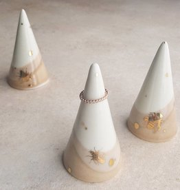 apricity ceramics apricity ceramics drops of honey ring cone