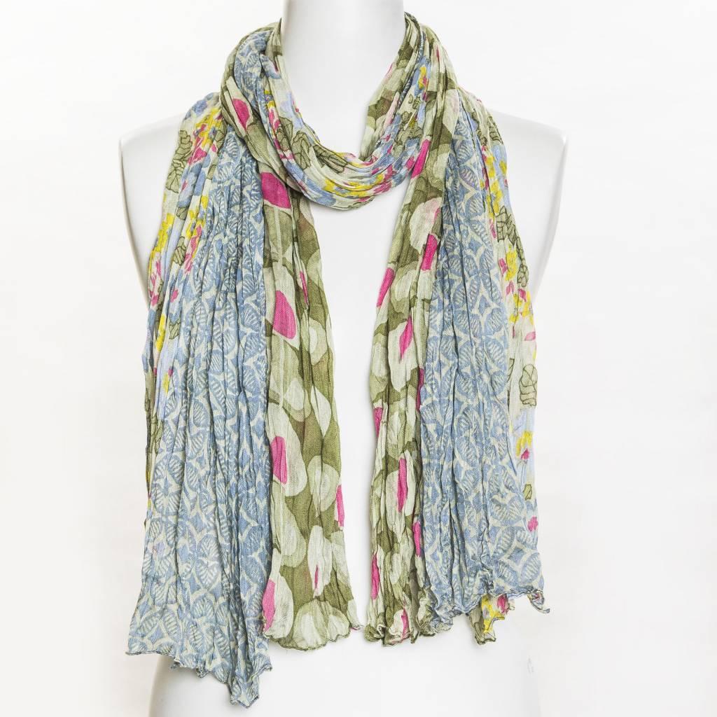vsa vsa se-423 scarf green