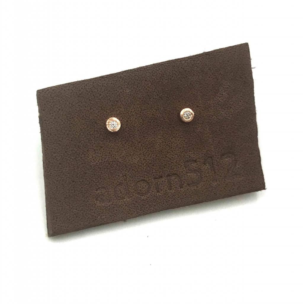 adorn512 cz stud earrings