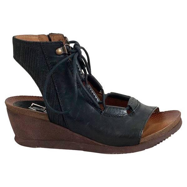 miz mooz miz mooz satine sandal black