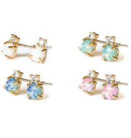 adorn512 opal cz studs