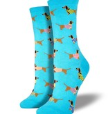 socksmith socksmith haute dog blue lagon