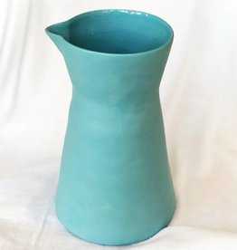 be home be home stoneware carafe blue