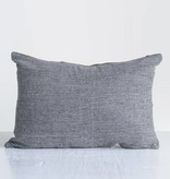 "creative co-op creative co-op 20"" x 14"" leather & felt pillow"