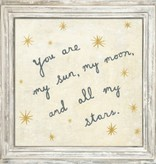 sugarboo sugarboo framed print you are my sun my moon