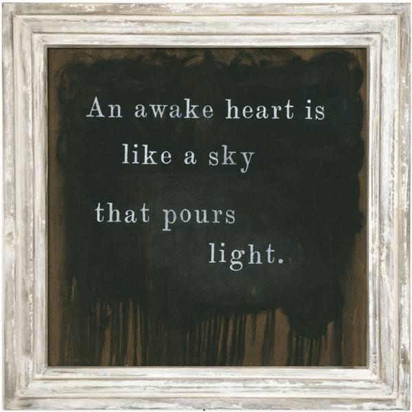 sugarboo sugarboo framed print an awake heart