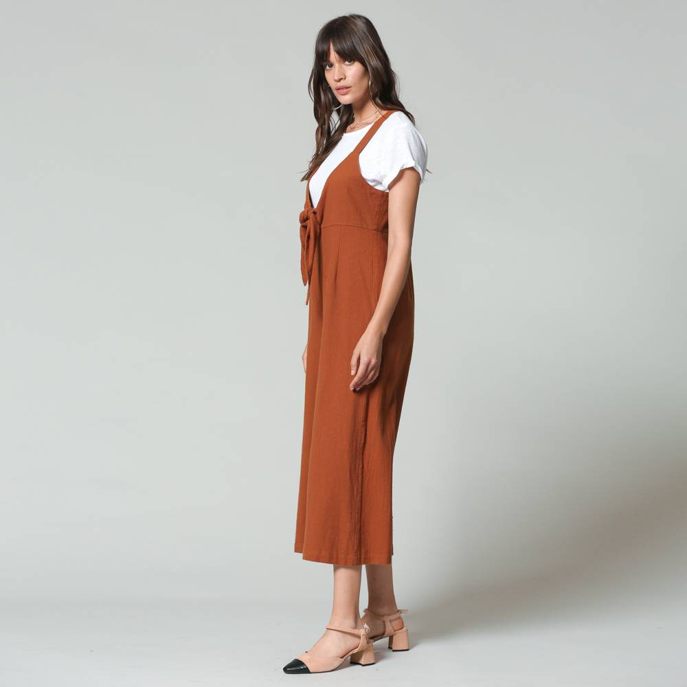 by together by together camel overalls