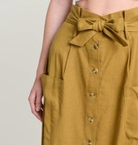 hem & thread hem & thread mustard skirt
