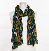 vsa vsa modern print scarf