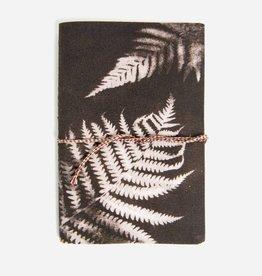 print fresh print fresh charcoal ferns notebook