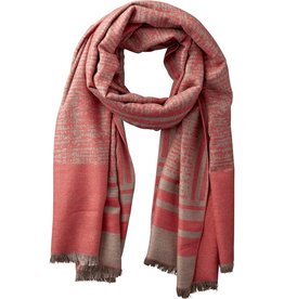tickled pink tickled pink temple stripe scarf