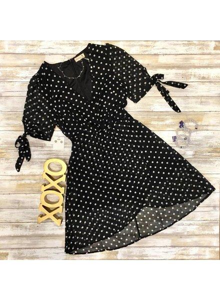 Promesa Polka Dot Dress