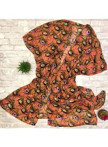 NAN Peacock Kimono