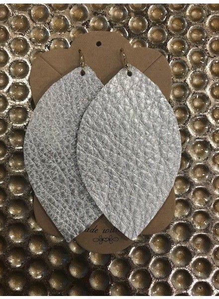 Farmhouse Leather Earrings
