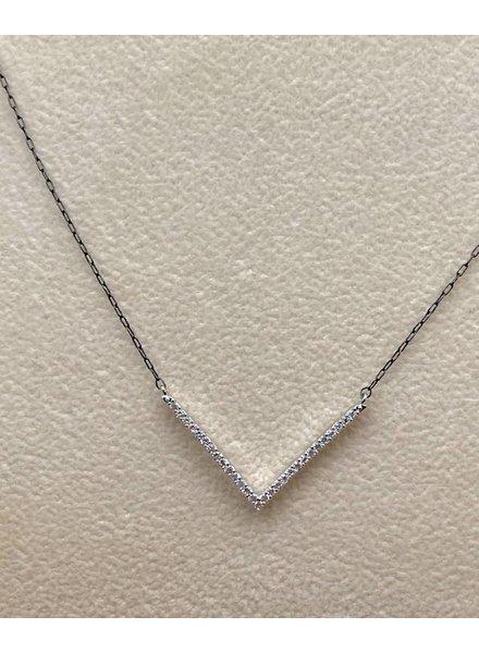Stars Chevron Necklace