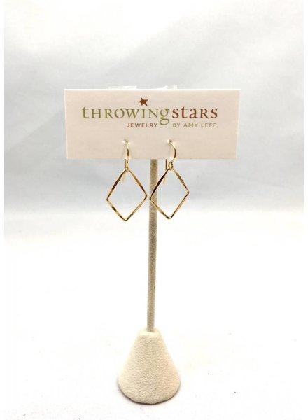 Stars Diamond Drop Earrings