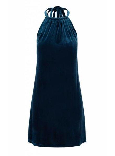 Bishop Velvet Dress