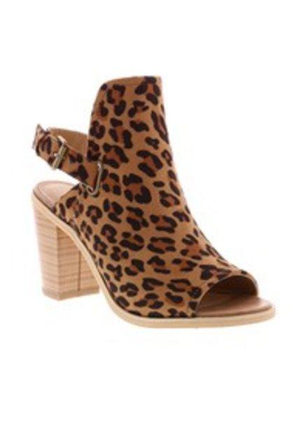 Volatile FARAH Leopard Peep Toe