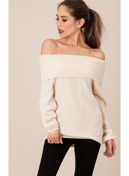 Black Swan Chloe Whitecap Sweater