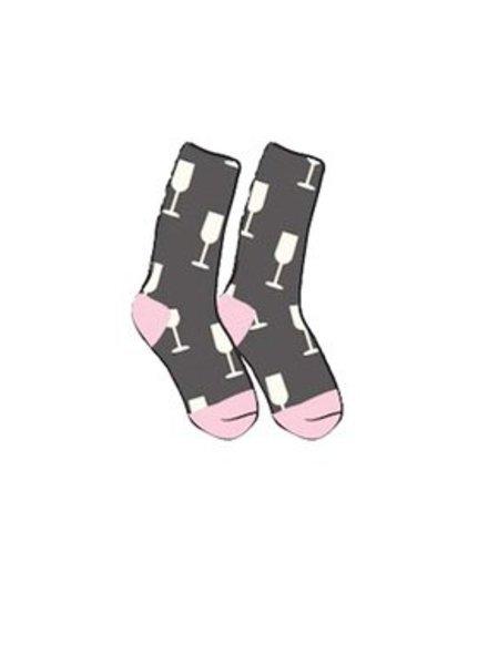 PJ Salvage Wine Socks