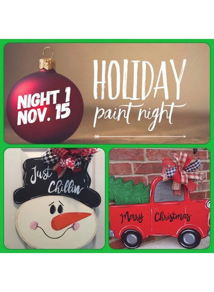 Wild About Paint WED NOV 15