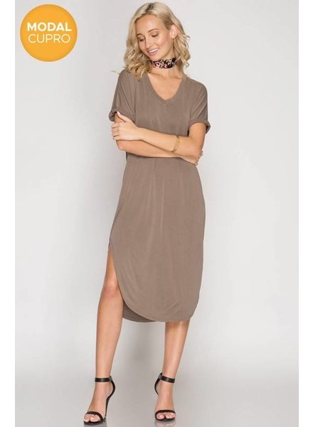 She & Sky Modal Dress