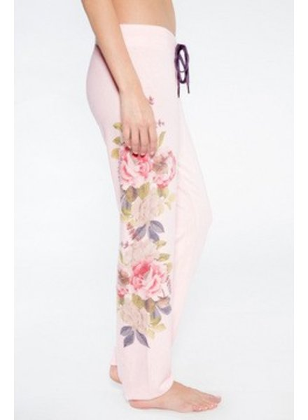 PJ Salvage Blush Floral Pants