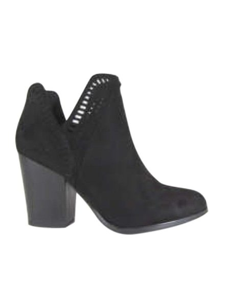 Basket Booties Black