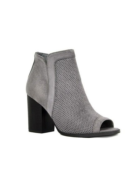 Debra Grey Bootie Open Toe