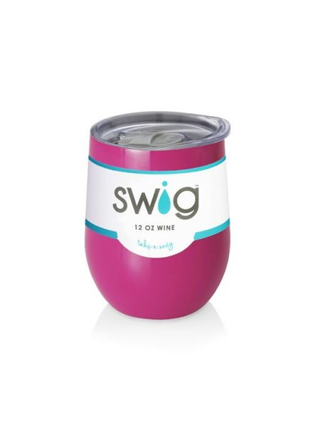 SWIG Stemless Wine Cup Berry