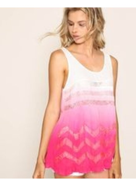 Listicle Pink Ombre Tank