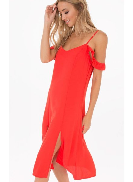 Black Swan Poppy Red Dress