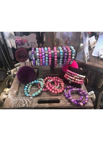 Bracelets Bright Colors