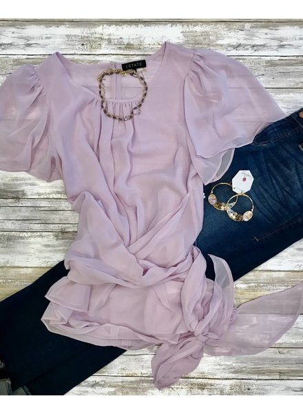 1 State Blouse Sugar Plum