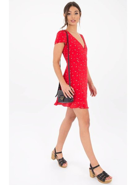 Black Swan Evelyn Dress Red