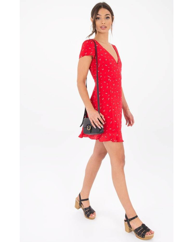 Black Swan Evelyn Dress Red
