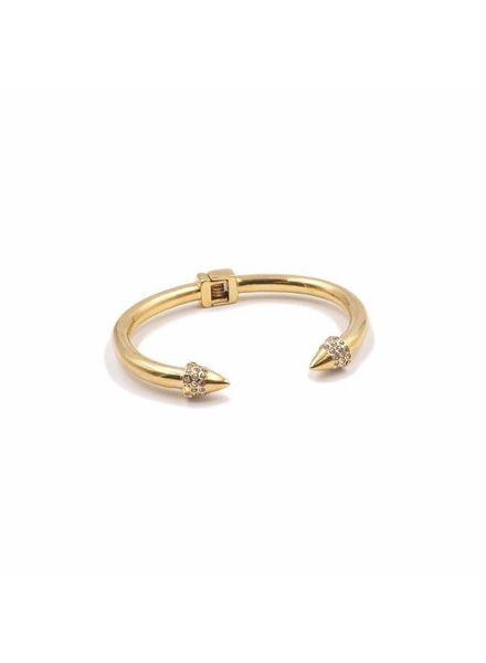 Kinsley Armelle Gold Cuff Bracelet