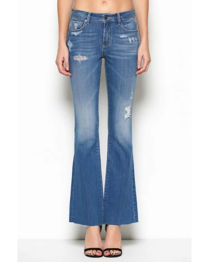 Hidden Flare Jeans