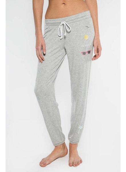 PJ Salvage Tropicana Pant Grey