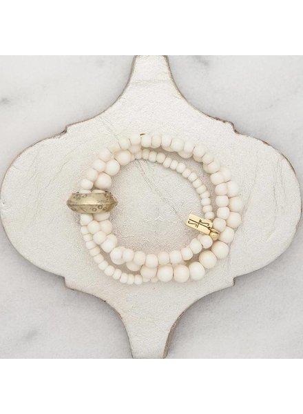 Stone Multi Bracelet