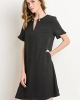 Gilli Dress Pearl Top Pin Black