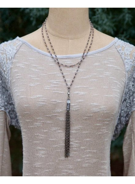 Inspire Waterfall Tassel Necklace